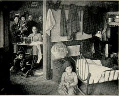 A Family in a Tenement Apartment, circa 1901   Jewish Women's Archive