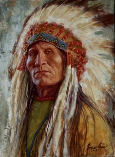 The Defiant One, Lakota - by James Ayers