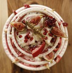 Nesselrode-Pudding, das beliebteste Dessert des 19. Jahrhunderts. Benannt nach dem russischen Diplomaten Karl Robert von Nesselrode. Foto: Claudia Frickemeier für Das Dandy-Kochbuch