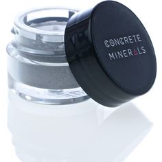 Concrete Minerals Lithium Mineral Eyeshadow (18 ILS) ❤ liked on Polyvore featuring beauty products, makeup, eye makeup, eyeshadow, mineral eye shadow, mineral eye makeup and mineral eyeshadow