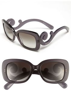 Prada 'Baroque' 54mm Sunglasses available at #Nordstrom .. cant afford them but i love the design