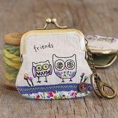 super sweet key chain coin purse!