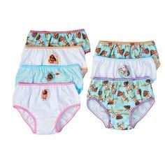 Disney's Moana Pua & Moana Girls 4-8 7-pk. Bikini Panties, Girl's, Size: