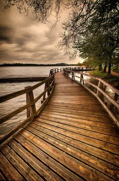 Go for a wooden boardwalk to adventure hiding around the bend........