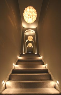 Stair Lighting design by John Cullen Lighting.