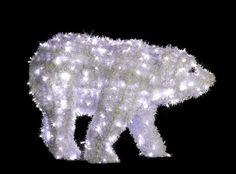 Medveď karpatský s LED diódami - 650mm x 1050mm - OMV-01-L