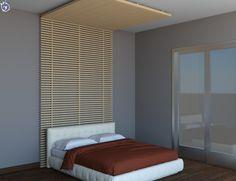Συνδυασμός επένδυσης τοίχου και μερικής κάλυψης οροφής με μασίφ ξύλου [Σειρά Natural]