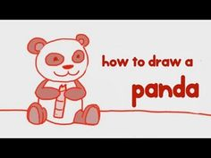 How to #Draw a #Panda - Simple step by step guide learn #howtodraw a Panda in a simple and interactive way. More such #drawing lessons at http://mocomi.com/fun/arts-crafts/drawing-for-kids/