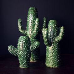 Abigail Ahern: Cactus Vase Hmmm I wonder if there's a way to reproduce this look without going through the process of slowly killing an actual cactus!