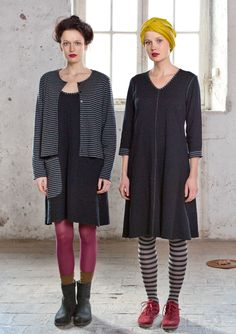 Eco-jersey spotted dress – Skirts & dresses – GUDRUN SJÖDÉN – Webshop, mail order and boutiques | Colourful clothes and home textiles in natural materials.