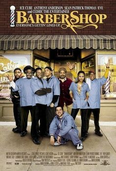 Barber Shop 1 & 2: A day in the life of a South Side Chicago barbershop. Similar formula to Car Wash - somewhat predictable but still funny.