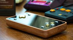 David Johnson is raising funds for The Ultimate Retropie Handheld (Canceled) on Kickstarter! The ultimate Retropie handheld gaming device crafted from Fine hard wood, Brass and Aluminum that you'll love to play. Portable Console, Diy Tech, Retro Arcade, Grilling Gifts, Electronics Projects, Hard Wood, Arcade Games, Nintendo Consoles, Kids Playing