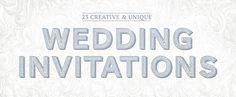 http://www.scrollweddinginvitations.com/ : 23 Creative and Unique Wedding Invitations on @Pinterest Creative Market http://crtv.mk/tVFT