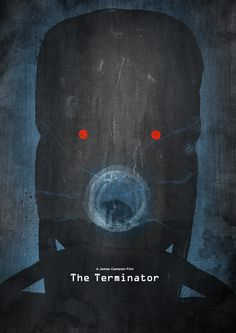 The Terminator poster art by Dean Walton