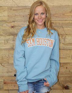 Stay warm and Sam Houston spirited in this sweatshirt GO BEARKATS