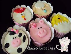 Portfólio Quero Cupcakes: Fazendinha Pink