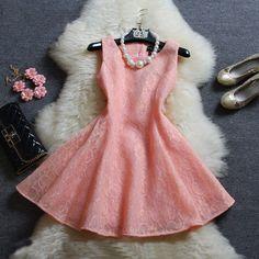 The new princess lace dress #AD31303