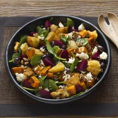Beetroot, Pumpkin and Fetta Salad