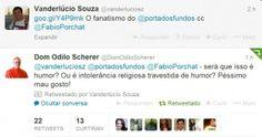 Dom Odilo critica Porta dos Fundos.