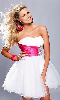 Strapless Short Prom Dress By Sherri Hill $300.00