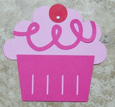 Pinkalicious pink and fuschia cupcake invitations- 15 pack by lovetiesbymeggin on Etsy https://www.etsy.com/listing/97804450/pinkalicious-pink-and-fuschia-cupcake