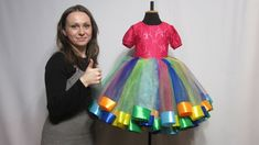 Dress Clapper, Candy, Rainbow. Detailed review with Clarifications - YouTube