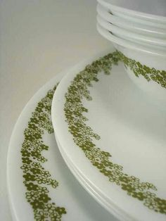Mama's Corelle dishes