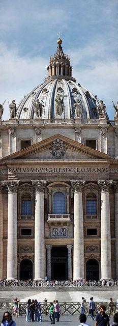 Basilica San Pietro in Vaticano, Rome. Italy.