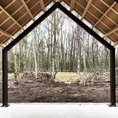 Barnhouse Cabin - Can't wait to sit by the fire and stare into the. Steel Building Homes, Building A Cabin, Metal Barn Homes, Pole Barn Homes, Shop Buildings, Metal Buildings, Self Build Houses, Tiny House Loft, Steel Frame House