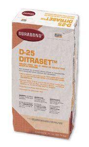 D25 DITRA SET WHITE 50# THINSET by Bostik. $19.99. D25 DITRA SET WHITE 50# THINSET