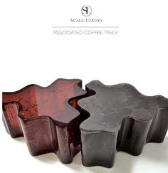 Ice cracked coffee-table by Scala Luxury, uh la la...