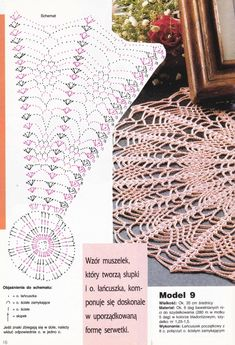 Photo From Album Crochet Bedspread Pattern, Crochet Doily Diagram, Crochet Stitches Patterns, Crochet Chart, Thread Crochet, Filet Crochet, Knit Crochet, Crochet Round, Crochet Home