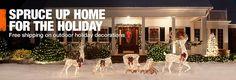 farmhouse outdoor christmas decoration ideas - Google Search