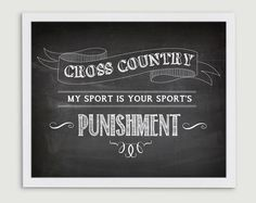 Cross Country Running Gift for Coach  My by StephLawsonDesign, $10.00