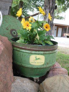 Garden and John Deere