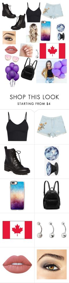 """""""Laurdiy"""" by mebanks05 on Polyvore featuring PopSockets, Casetify, STELLA McCARTNEY, Lime Crime, Avon, Quay, youtube and laurdiy"""
