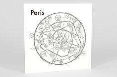 Archie's Press map of Paris, France