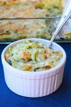 "Julia Child's Recipe: Zucchini au Gratin ""This zucchini au gratin was one of the best veggie sides I have ever tasted."" --Jenna Weber of Fresh Tastes"