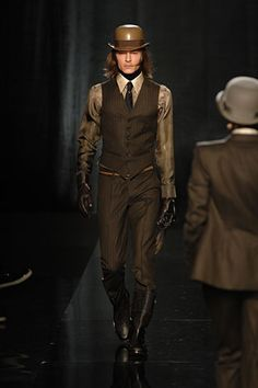 Jean Paul Gaultier Fall 2008 Menswear - Collection - Gallery - Style.com
