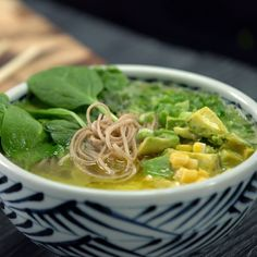 A few unique ingredients sets this ramen apart from the rest.