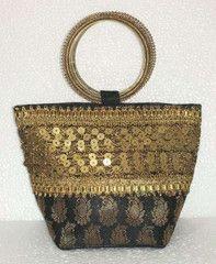 Black colour  Designer Clutches : Tejal Collection -  YF-40818