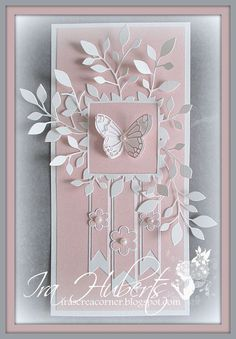 Poppystamps Butterfly card April 2014