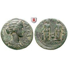 Römische Provinzialprägungen, Mysien, Germe, Crispina, Frau des Commodus, Bronze 178-192, ss: Crispina, Frau des Commodus +183.… #coins