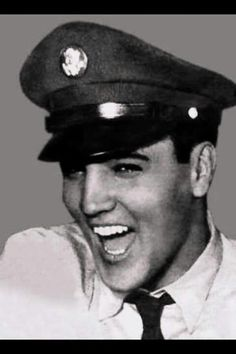 Love this one!   typical Elvis laughing