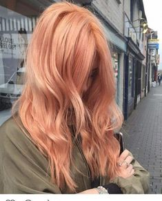 This hair coloration will do it fully in Say hey to Blorange! Breathtaking This hair coloration will. Blond Ombre, Brown Blonde Hair, Ombre Hair Color, Cool Hair Color, Blorange Hair, Hair Dye, Peach Hair Colors, Pastel Hair Colors, Latest Hair Color