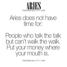 Zodiac Aries Facts.