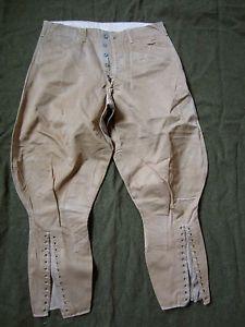 WW2 U S Army Cavalry Riding Wool Pants - Patton Style h6hyi