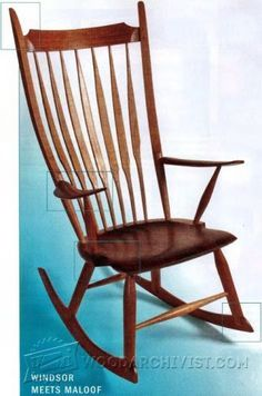Build Rocking Chair - Furniture Plans and Projects | WoodArchivist.com