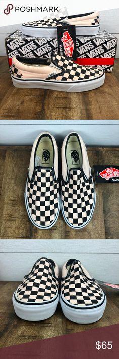 Vans Zapatillas Checkerboard Old Skool Slip on (ochre true White) Hombre Checkerboard from Vans on 21 Buttons