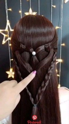is part of Hair styles - Amazing hairstyles techniques! Braided Bun Hairstyles, Girl Hairstyles, Braided Hairstyles, Amazing Hairstyles, Christmas Hairstyles, Curly Hair Styles, Natural Hair Styles, Hair Videos, Hair Hacks